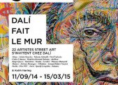 Exposition «Dali fait le mur»